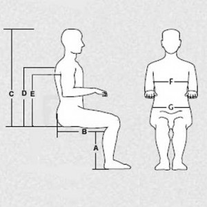 Sitting Measurements