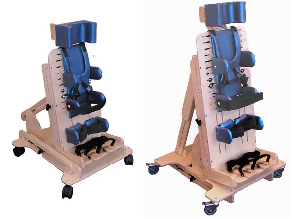 sizes available for supine stander